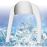Breathable Sommer UV Sun Schutzarm Ärmel Abdeckungen für Golf / Tennis / Radfahren / Angeln, Größe L-Weiß