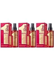Lot de 3 UNIQ ONE - 150 ML (le masque pour cheveux, le shampoing et le traitement capillaire)