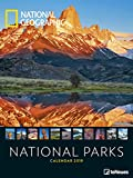 2019 Nat Geog Nationa Park Poster Calend