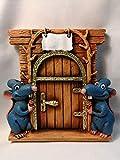LaRetrotienda puerta ratoncito Perez - máximo detalle, diseño diferente y único !!!