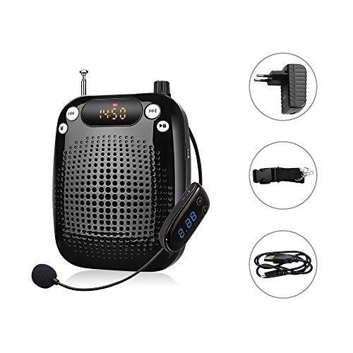 Zoweetek® Teléfono celular de amplificador de voz altavoz - FM Radio