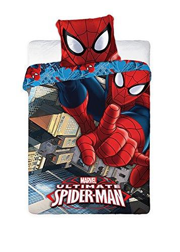 set-letto-spider-man-ultimate-uomo-ragno-copripiumino-federa-100-cotone-prodotto-ufficiale-originale
