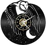 TIANZly Orologio da Parete in Vinile Orologio da Parete Silenzioso Tic-Tac Orologio da Parete Orologio da Parete Grande Orologio da Parete Grande Decorazione Decorazione da Parete Regalo 12 Pollici