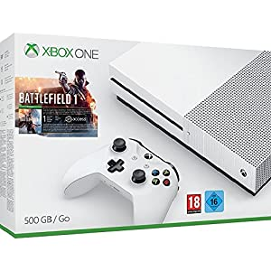 Xbox One S 500 GB Konsole – Battlefield 1 Bundle