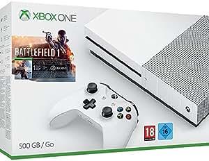 Xbox One S 500 GB Konsole - Battlefield 1 Bundle
