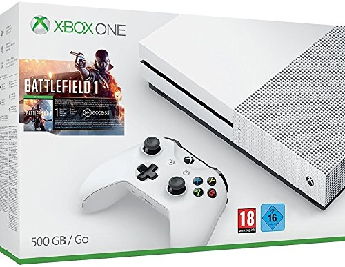 Xbox One S 500 GB Konsole - Battlefield 1 Bundle