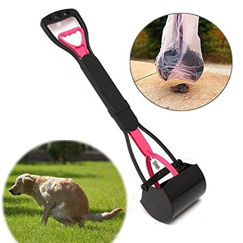 Vinallo Pet Hundekot Easy Kotschaufel Walking Poo Poop Scoop Grabber Picker