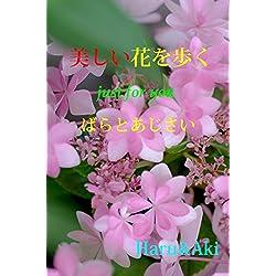 Walking through beautiful flowers : Rose and Hydrangea photoalbum by Haru and Aki (Japanese Edition)