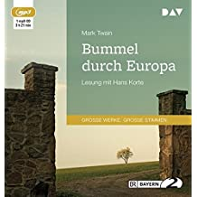 Bummel durch Europa: Lesung mit Hans Korte (1 mp3-CD)