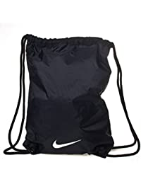 Nike Fundamentals Swoosh Gymsack - Bolsa, color negro / blanco