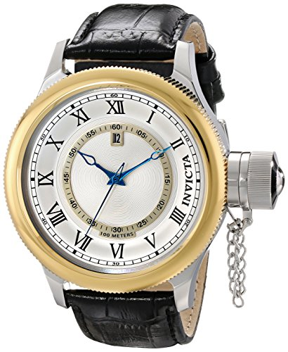Invicta Men's 14078SYB Russian Diver Analog Display Japanese Quartz Black Watch image