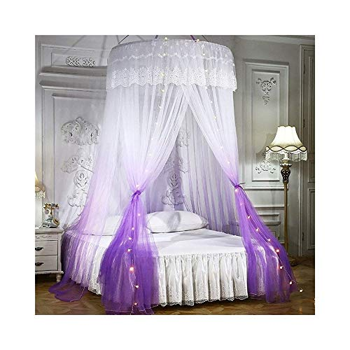 DCCER Faltbare Moskitonetze, Spiele für drinnen und draußen, Lesedachnetze, Schlafzimmerdekoration mit Bett und Stuhl, atmungsaktive Campingzelte (Farbe : A, größe : 120 * 270CM)