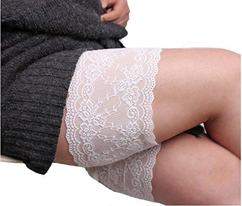 Lace Anti-Chafing zu verhindern, DASS Innere Schenkel Scheuern Oberschenkel Bands Socken * 1 Paar ()