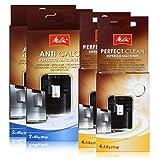 2 x MELITTA Reinigungstabs & Entkalker für Espresso Maschine