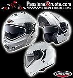 Helm Modular Caberg Duke weiß white Größe XL
