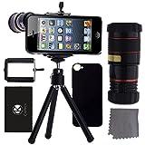 Best Lentes de las cámaras de teléfonos inteligentes CamKix® - Juego de Lentes para Camara iPhone 5/5S incluye Review