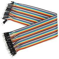 Plat Firm 40pcs 30cm macho a cable de puente de cable Dupont para Arduino