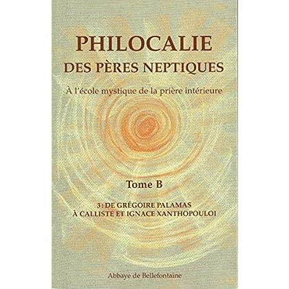 Philocalie des Pères Neptiques T.B3