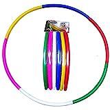 Unik Folding Clorful Hula Hoop for Kids Outdoor Activity