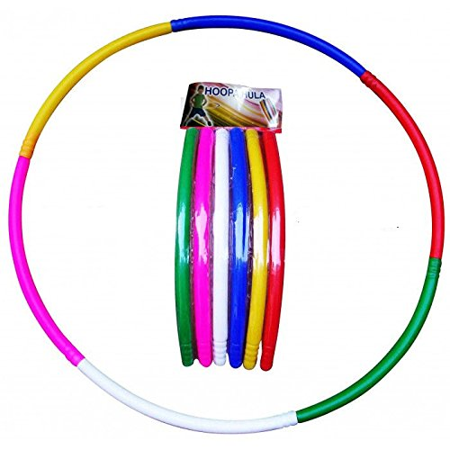 Unik Folding Clorful Hula Hoop for Kids Outdoor Activity