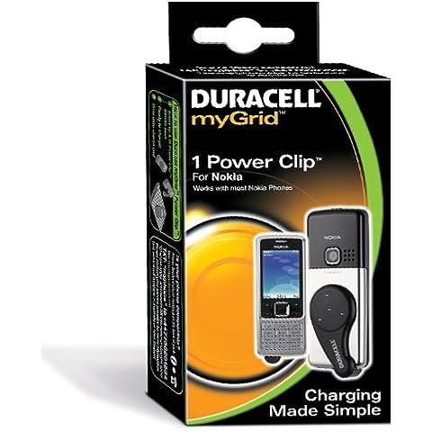 Duracell myGrid Power Clip - Adaptador para Nokia