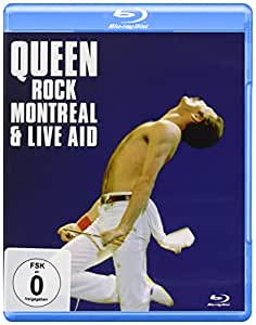 Rock Montreal & Live Aid [Blu-ray] [Import allemand]