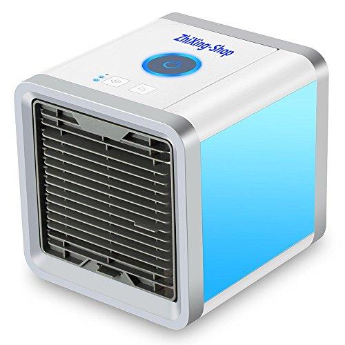 Mini Tragbare Mobile Klimaanlage Luftkühler ,Mini Air Cooler USB Klimagerät 3 in 1...