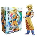 Banpresto 49762 Dragon Ball Z Master Stars Piece King of Coloring Super Saiyan Son Goku Action Figure, 10.5 by Banpresto