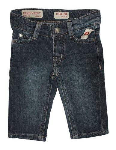 IMPS & ELFS - Baby Mädchen Jeans Slimfit in Indigo mit normalem Bund Größe 62
