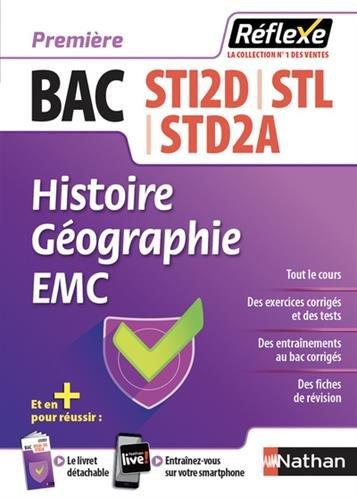 Histoire Géographie 1re Bac STI2D-STL-STD2A
