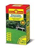 WOLF LW 100 Moosvernichter und Rasendünger  3,0 kg für grünen Rasen