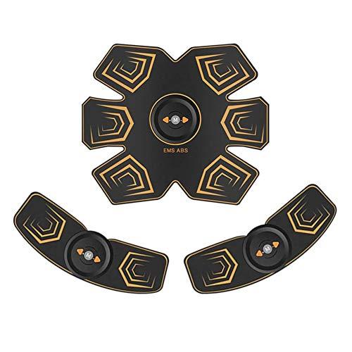 HHJY- Electroestimulador Muscular Abdominales Masajeador Eléctrico 6 Modos Utilizado para Abdomen/Brazo/Piernas/Cintura...