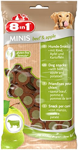 8in1 Minis Selection Hundesnack in 4 verschiedenen Sorten 8 x 100 g - 4