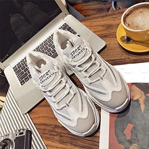 Sneaker, LuckyGirls Mode Nouveau Automne Hiver Chaussures de Sport Homme Multisports Compétition Trail Entraînement Course Running Baskets 35-43