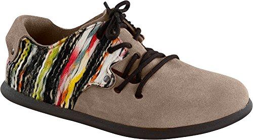 Birkenstock Montana Veloursleder/Textil Freizeit / Damen Taupe