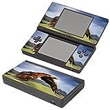 Vögel 038, Falke, Design folie Sticker Skin Aufkleber Schutzfolie mit Farbenfrohe Design für Nintendo DSi Designfolie