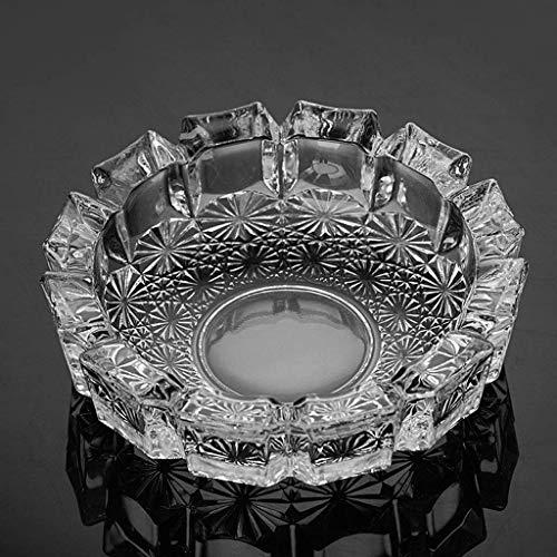 GLP Luxus Kristall Aschenbecher Kreative Persönlichkeit Trend Multifunktionale Nette Schlafzimmer Wohnzimmer Europäischen Glas Aschenbecher Große 145mmx43mm