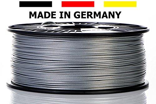 Material 4 Print - 3D-Filament - Kristall-Silber - ABS-Kunststoffdraht - Ø 1,75mm 1kg 3D-Druckmaterial