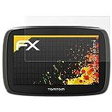 atFoliX Schutzfolie für TomTom Start 60 (2014) Displayschutzfolie - 3 x FX-Antireflex blendfreie Folie