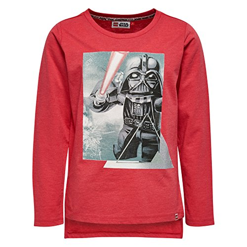 LEGO Wear Mädchen Star Wars Tallys 351-Langarmshirt Rot (Coral Red 315), 128