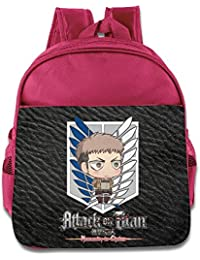 61873b36da9 Attack On Titan Chibi Levi para niños escuela bolsas azul eléctrico