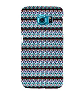 EPICCASE jazzy triangles Mobile Back Case Cover For Samsung Galaxy S6 Edge Plus (Designer Case)