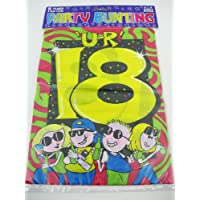 U-R 18 Party Bunting Flags