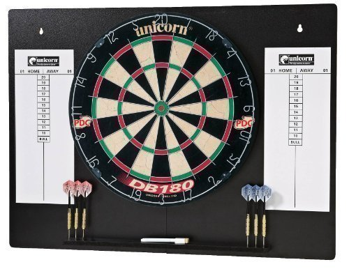 *Unicorn DB180 Home Darts Centre Hallensport Spiel-Dart Set, komplett*
