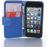 Housse iPhone SE, iPhone 5 5s  Coque iPhone SE, iPhone 5 5s | JAMMYLIZARD | Housse portefeuille Classique aspect cuir range cartes fermeture magnétique, Bleu
