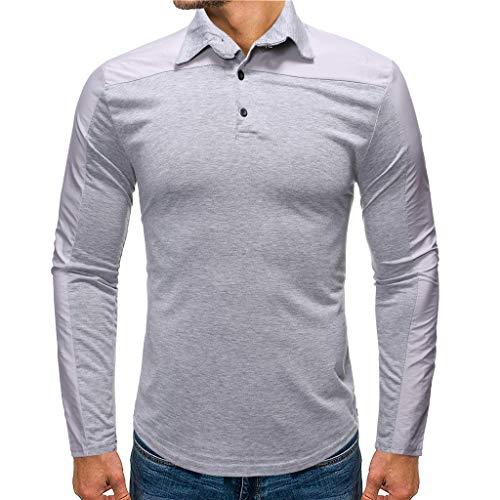 Preisvergleich Produktbild Luckycat Herren Poloshirt Polohemd T-Shirt Shirt Mit Polokragen Herren Poloshirt Polo Polohemd Langarmshirt Shirt Basic Poloshirts für Herren Kurzarm Polohemd T-Shirt Fun Poloshirt Pique