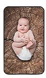 VLC babies Tappetino Materassino portatile/lavabile per cambio da usare con bambini 100% Made in Europe. 45 cm x 75 cm