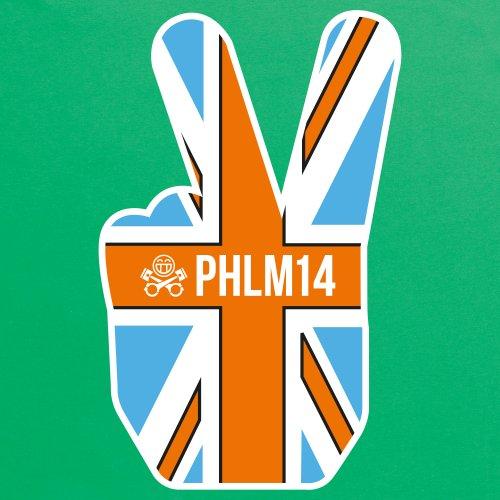 PistonHeads PHLM14 Vees T-Shirt, Herren Keltisch-Grn