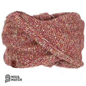 Buff Knitted Wrap Agna Mütze