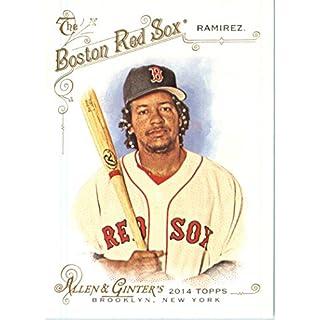2014 Topps Allen & Ginter Baseball Card # 293 Manny Ramirez, Boston Red Sox